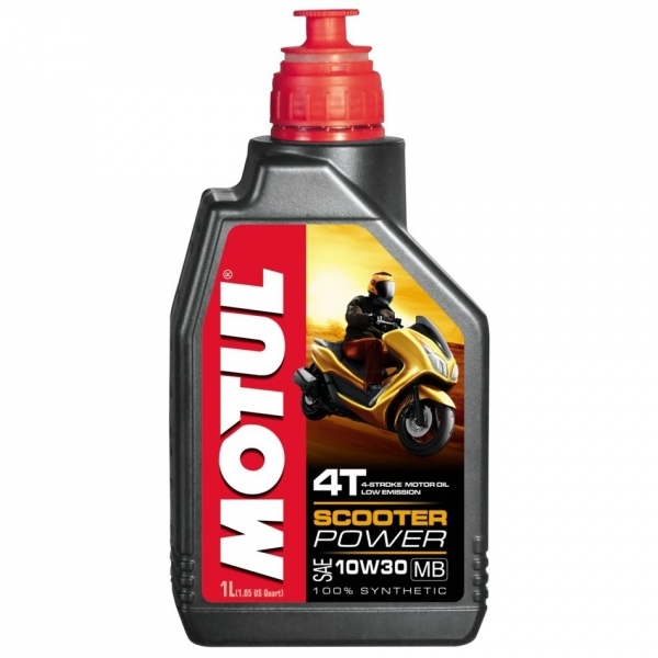 Масло Motul Scooter Power 4T 10w30 (1л)