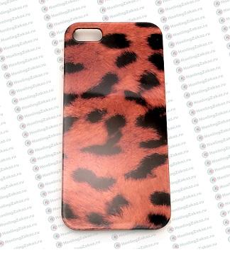 Чехол для IPhone 5/5S леопард