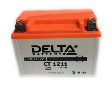 Аккумулятор DELTA AGM 11 А/ч СТ 1211 BS