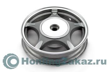 Диск колесный задний R10-2.5 19 шлицов литой барабан 50сс (139QMB)