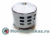 Фильтр воздушный нулевого сопротивления 42мм (закрытый, серебро)