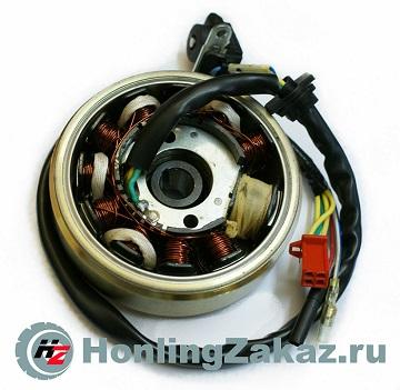 Генератор в сборе 125cc, 150cc (11 кат) (152QMI, 157QMJ) Honling Best Quality