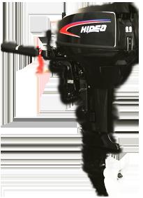 Лодочный моторHIDEAHD9.9FHS