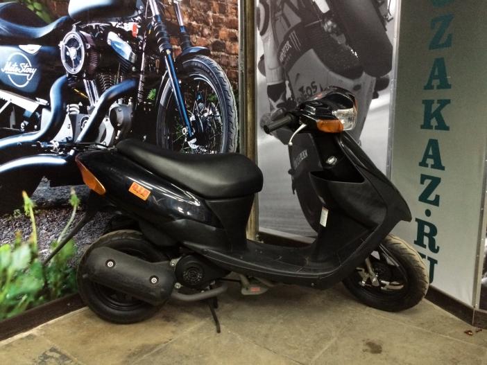 Скутер Suzuki Lets 2 new (черный) (б/у)
