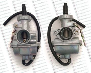 Карбюратор 4T 139FMB мопед 50сс (металич. рычаг заслонки) d-16mm