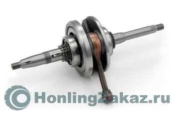 Коленвал в сборе (с подшипниками) 125cc, 150cc (152QMI, 157QMJ) Honling Best Quality