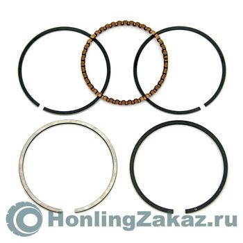 Кольца поршневые комплект (44 мм) 62сс (139QMB) Honling Best Quality