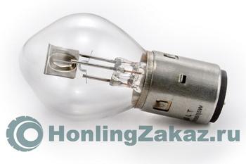 """Лампа фары №1 (QT-2,4,6,8,11,13) \""""Груша\"""" BA20D"""