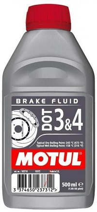 Масло MOTUL DOT 3&4 Brake Fluid FL (0.5л)