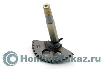 Зубчатый сектор кикстартера 125cc, 150cc (152QMI, 157QMJ) h-146 mm