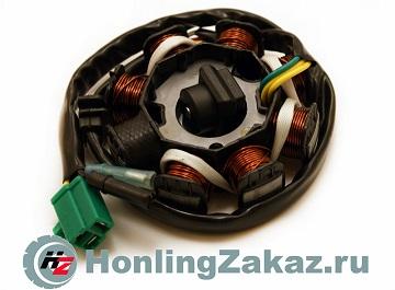 Статор генератора 125cc, 150cc 8-кат.(152QMI, 157QMJ) Honling Best Quality