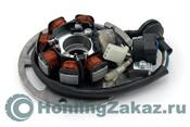 Статор генератора 2т (1E40QMB) 3KJ Yamaha Jog