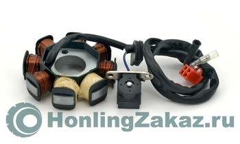 Статор генератора 50сс (139QMB) Honling Best Quality